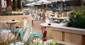 A revamp for West Dulwich beer garden