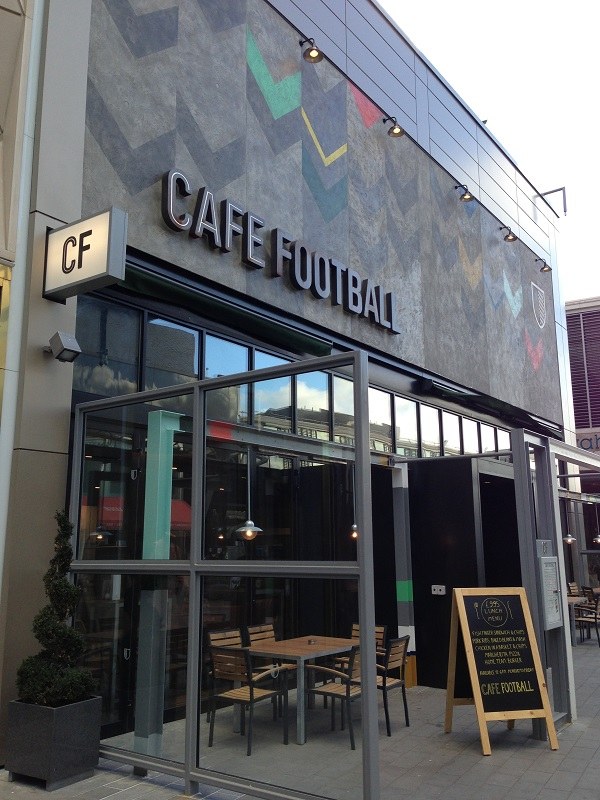 Cafe Football Scores With Armourcoat Ppx Hospitality