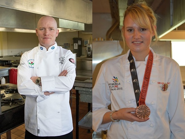 City of Glasgow College hospitality mentors in running for national award