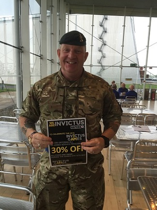 KUDOS celebrates Invictus Games by offering UK armed forces personnel 30% off food and drink 2