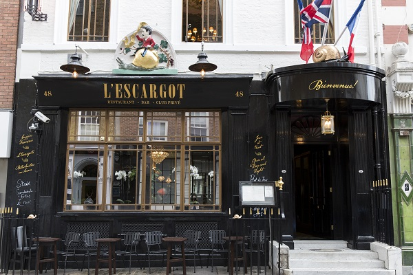 Lucinda Rogers to Exhibit at L'Escargot - Restaurant Drawings Historic and Contemporary 2