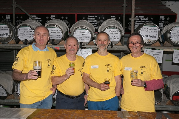 Pittodrie celebrates 30th Great Grampian Beer Festival