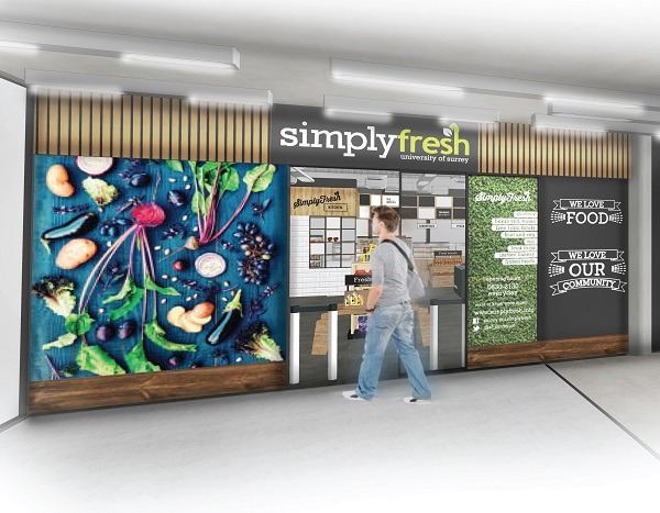 Chartwells & SimplyFresh think big with University of ...