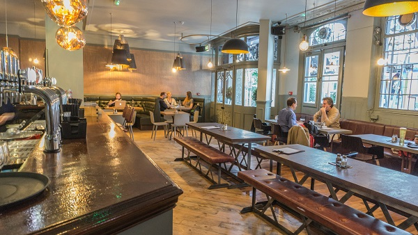 Historic Pub Swaps Tastes Of The Continent For A Modern