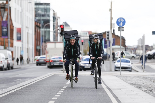 Deliveroo Picture Conor McCabe Photography