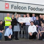 Falcon staff raise £4700 to CHAS