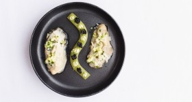 Michelin Star Poached Jersey Oysters Recipe