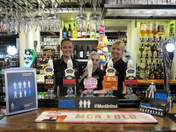 Prostate Cancer UK searches for their winning 'favourite local'