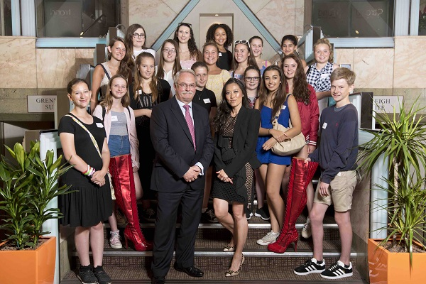 Young Designers Work with Lucy Choi On Kinky Boots Project at The Strand Palace Hotel 1