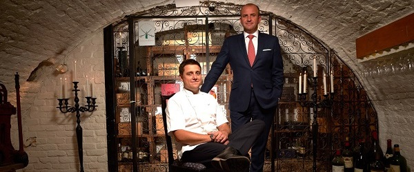 James Durrant appointed executive chef at the Stafford London