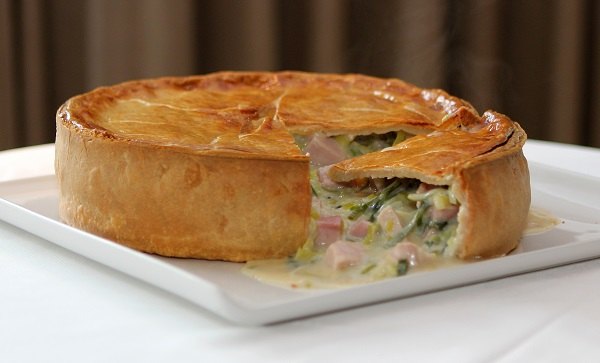 Lord's Recipe: Chicken, Ham and Leek Pie - Hospitality & Catering ...