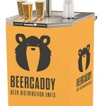 Mobile drinks dispenser, No power required from Beercaddy