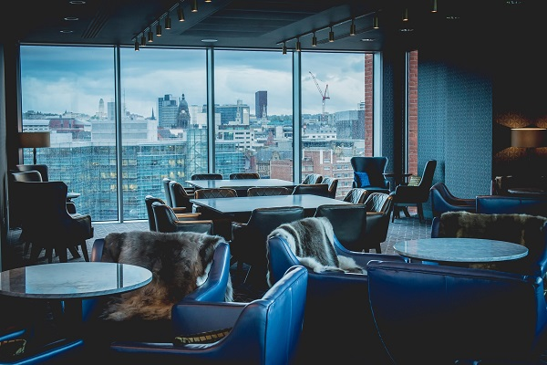 Refurb takes the Sky Lounge at DoubleTree by Hilton Leeds to new heights