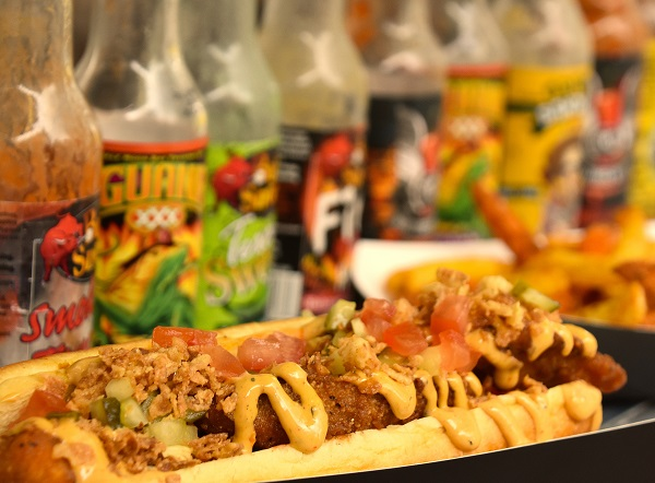 StreetDots debuts street food at Oxford Street Christmas lights switch-on 1