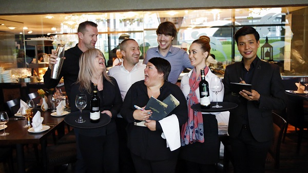 Tables turned on TLG's senior team for National Waiters Day 2