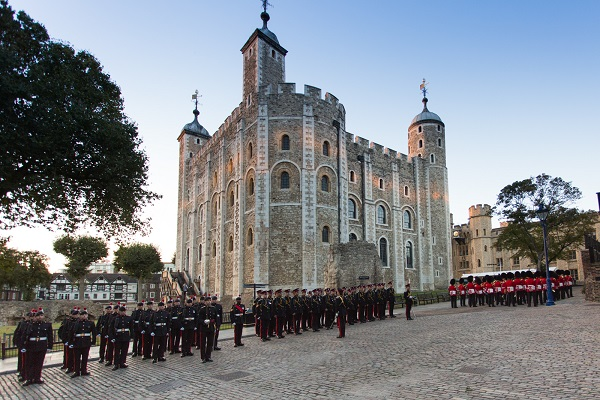 The 160th Constable Instillation at the Tower of London 4