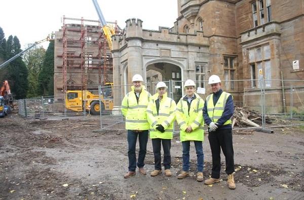 Birkwood Castle's new £15 million boutique hotel