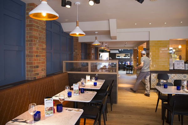 OPENING OF ABBEVILLE ROAD PIZZA EXPRESS