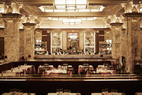 The Philharmonia Orchestra in the Brasserie