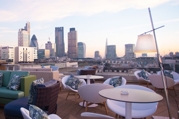 Aviary London's Newest Rooftop Destination