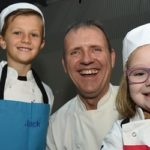 Five-year-old Isla gets her wish to become a chef