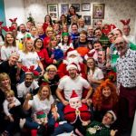 Harbour & Jones takes Christmas Jumper Day to the next level of creativity for Save the Children