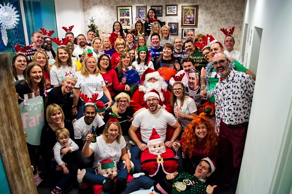 Harbour & Jones takes Christmas Jumper Day to the next level of creativity for Save the Children 1