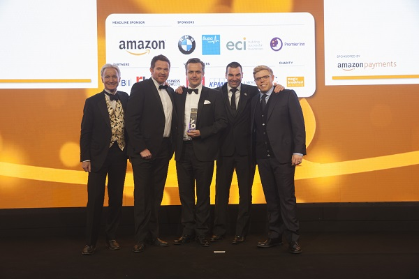 Knutsford company wins national Amazon Growing Business Award