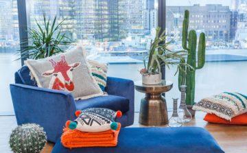Abigail Ahern takes over the Debenhams designer apartment at Cheval Three Quays