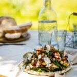 BaxterStorey's cauliflower and scented yoghurt salad