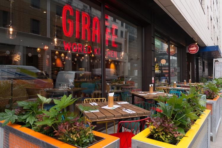 Giraffe World Kitchen London