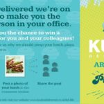 Kudos Delivered launches new initiative offering a free gourmet lunch