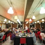 Kudos Delivered volunteers to feed elderly guests at South Bank community event