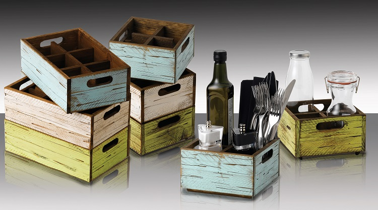 New From Artis Stackable Boxes For Your Tabletop
