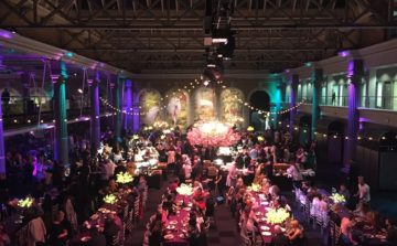 Seasoned cater for fully vegan Lush event at Old Billingsgate