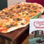 Sheer pizza and Mushroom Marmite delight at Bunga Bunga
