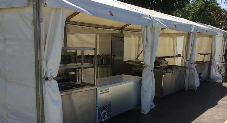 Temporary Event Kitchens Large And Small Hospitality Catering News