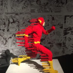 The Art Of The Brick: DC Superheroes exhibition, catered for
