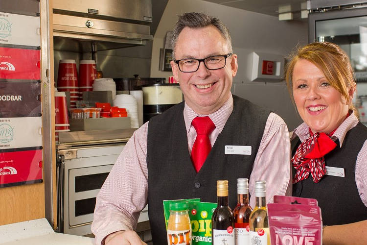 Virgin Trains adds organic, gluten free and vegan options