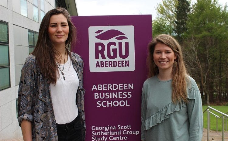 Hospitality and Tourism awards for two outstanding students