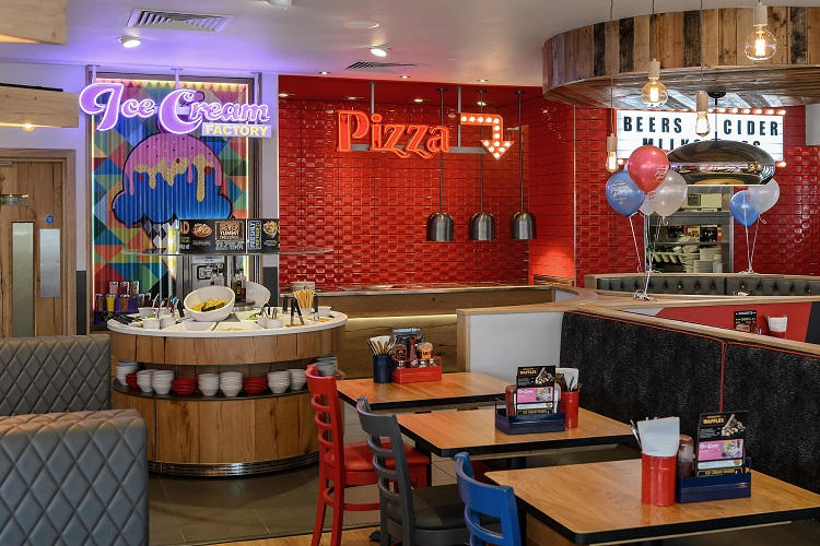 Pizza Hut Restaurants Unveils Major Refurbishment For Stratford Upon