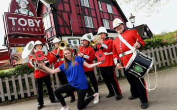 Toby Carvery Marches into Charity Partnership with The Royal British Legion