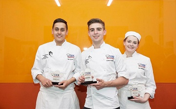 Westminster Kingsway trio make final three in South African cuisine chefs competition