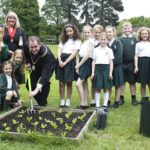 Education caterer Principals welcomes Bromley Deputy Mayor to the Big Dig at Warren Road Primary School
