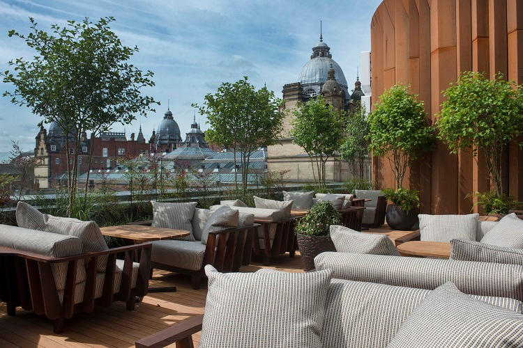 D D London Opens A New Japanese Rooftop Restaurant And Bar