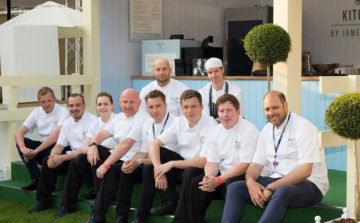 Sodexo chefs pop up at new Royal Ascot celebrity restaurant