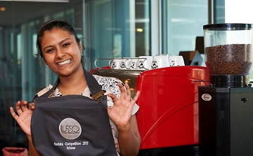 The Lusso Barista Championship serves a winner