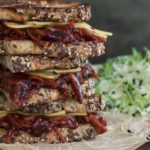 Vegetarian Foodservice Recipe: 'Pulled Polony' Sarmie with Vegan BBQ Sauce and Fresh Apple Slaw
