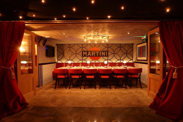 Bunga bunga covent garden presents no place like rome for Best private dining rooms covent garden