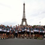 Hospitality team completes ride to Paris for action medical research for children